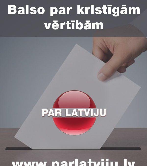 Sākot ar šodienu, 19. oktobri, tiek aktivizēta balsošanas platforma parlatviju.lv.